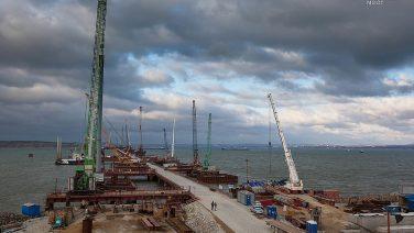 Строители несмогли состыковать Крымский мост