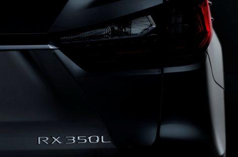 Lexus RX L дебютирует в ноябре