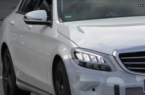 Mercedes-Benz C-Class вывели на тесты