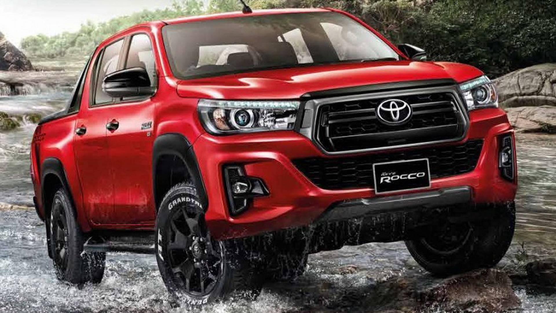 New Toyota Hilux Rocco