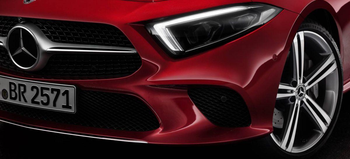 Mercedes-Benz объявил цены на новое поколение купе CLS