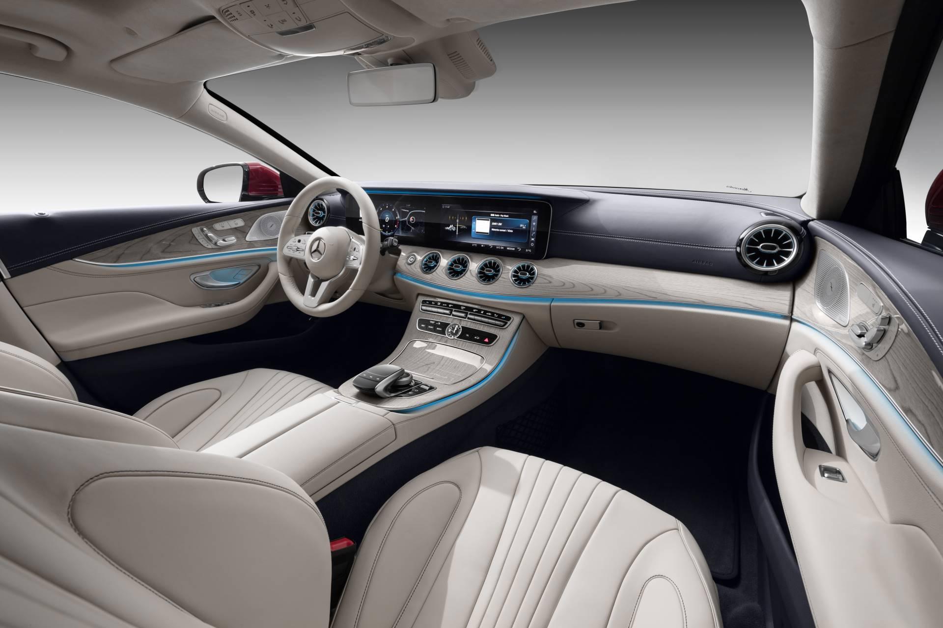Новый Mercedes-Benz CLS салон