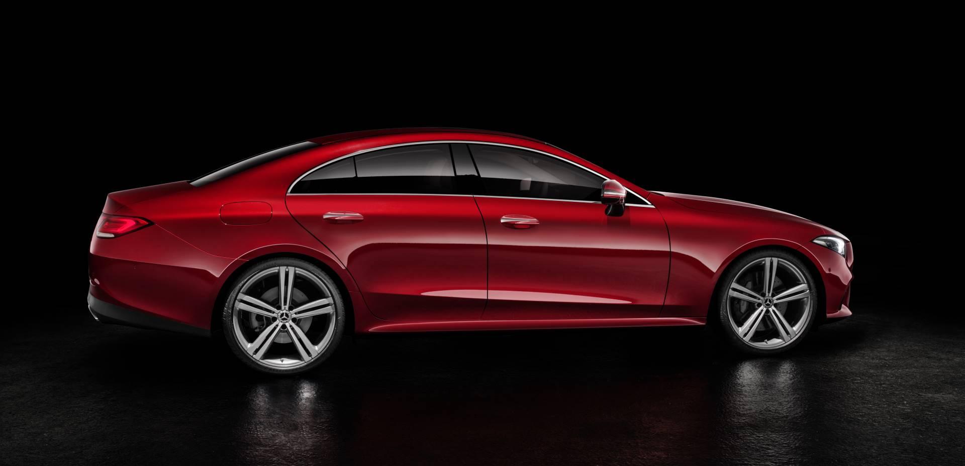 Новый Mercedes-Benz CLS