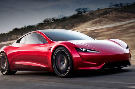 Новый Tesla Roadster