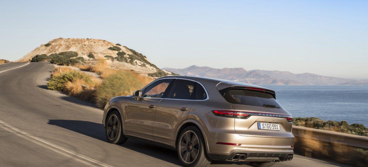 Четыре премьеры от Porsche