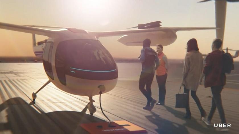 Совместная разработка Uber и NASA