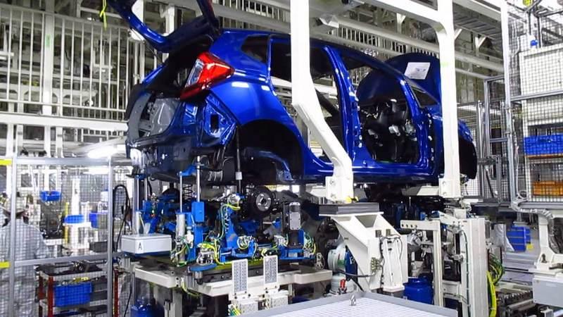 Subaru завод