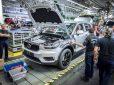 Volvo XC40 встал на конвейер