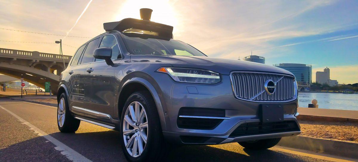 Автономные XC90 для Uber
