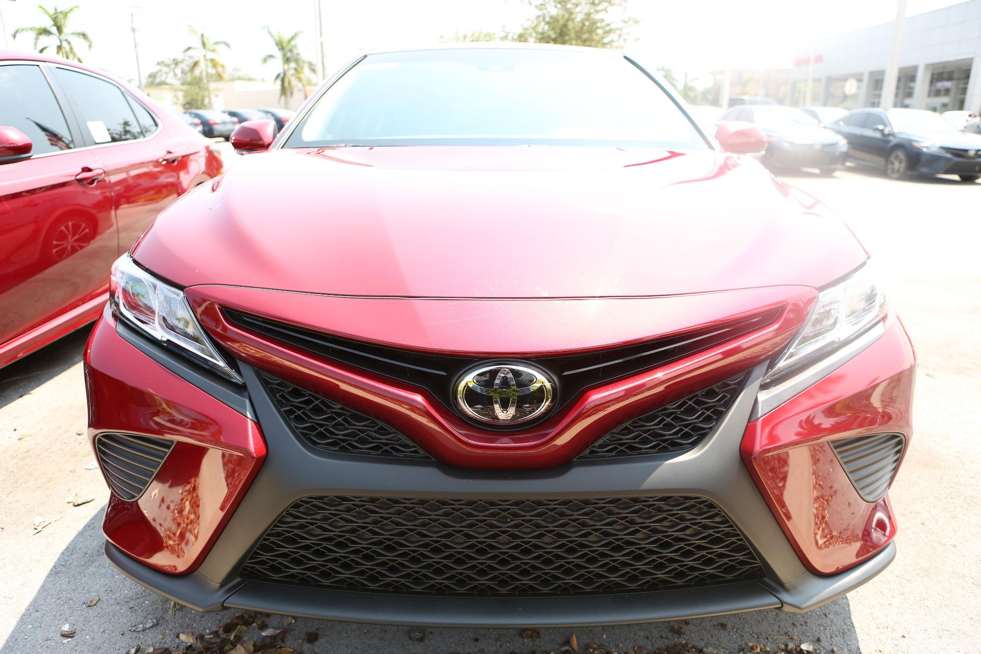 Toyota готовит к старту продаж новую Toyota Camry