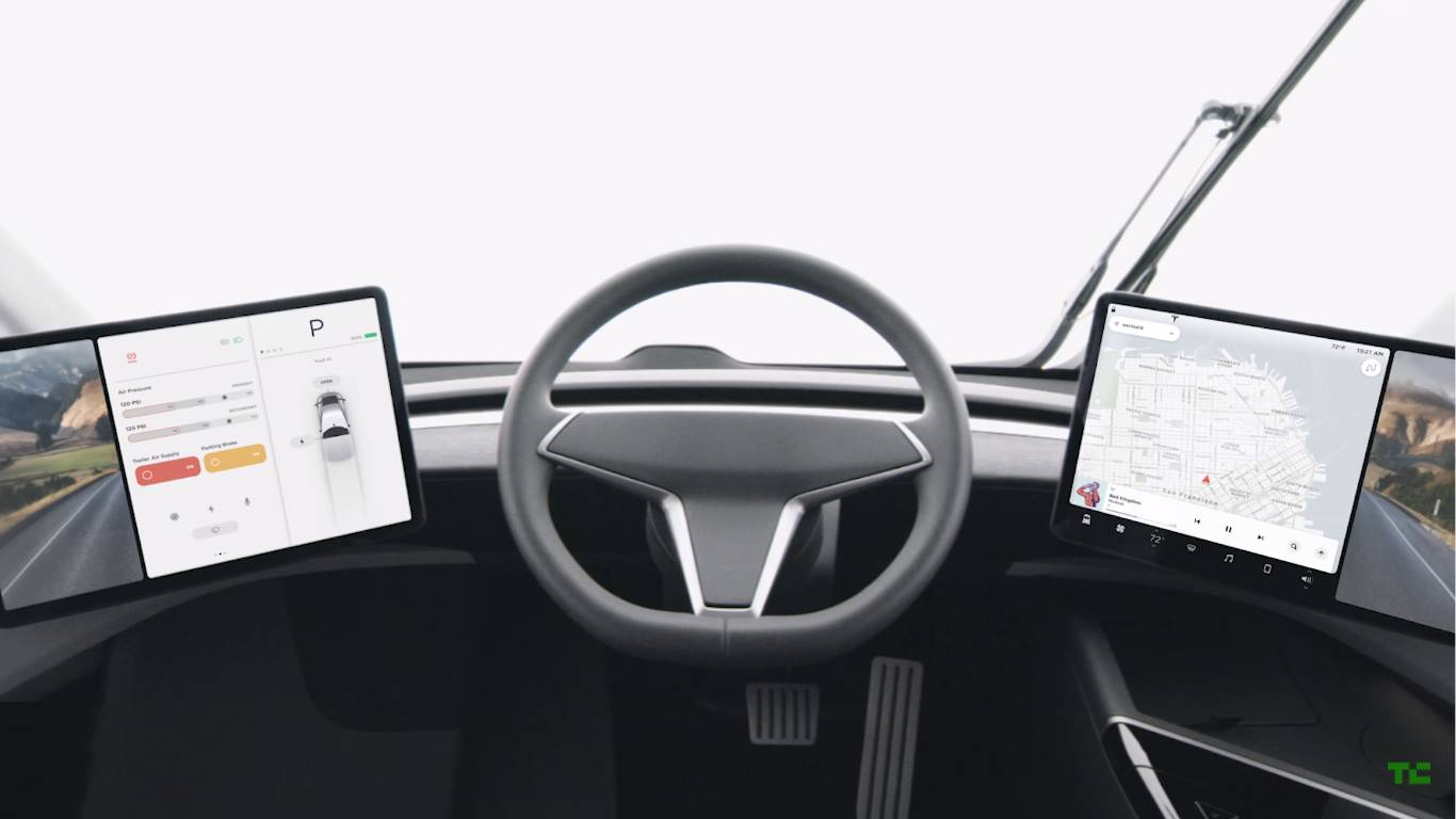 электрический грузовик Tesla