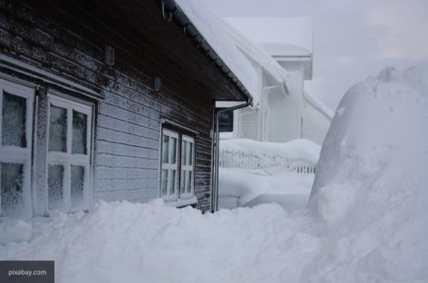 Колыма и Магадан под снегом. Совсем.
