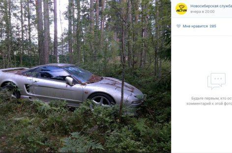 В лесу под Петербургом нашли легендарное авто