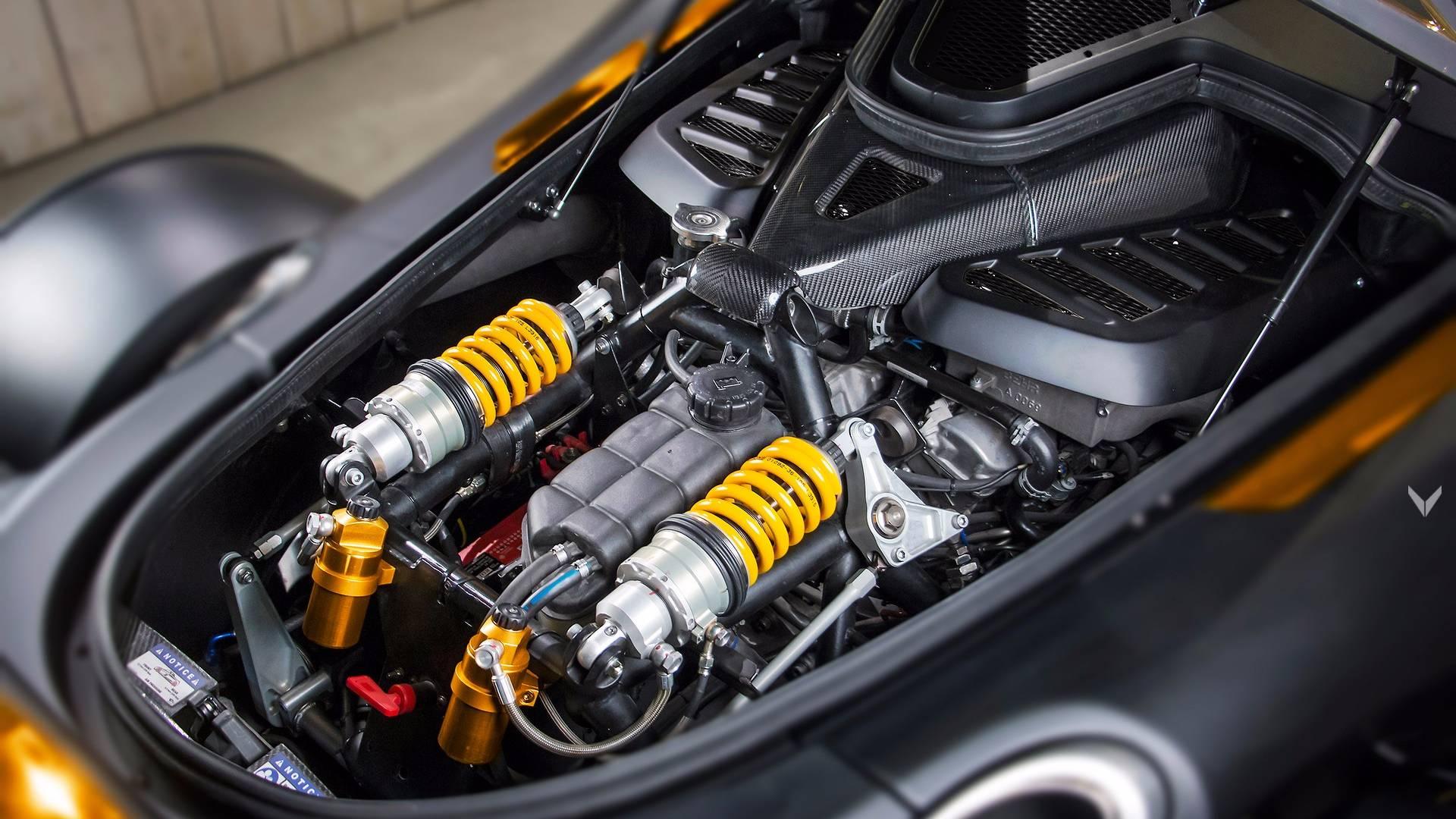 888-HP Tramontana мотор