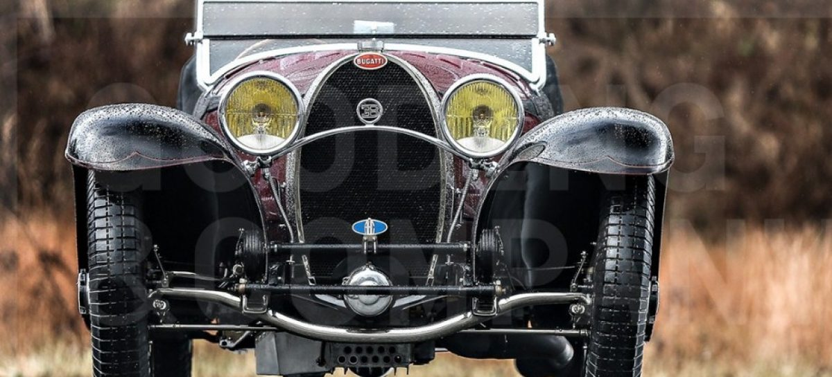 Родстер Bugatti Type 55 1931 года уйдёт с молотка