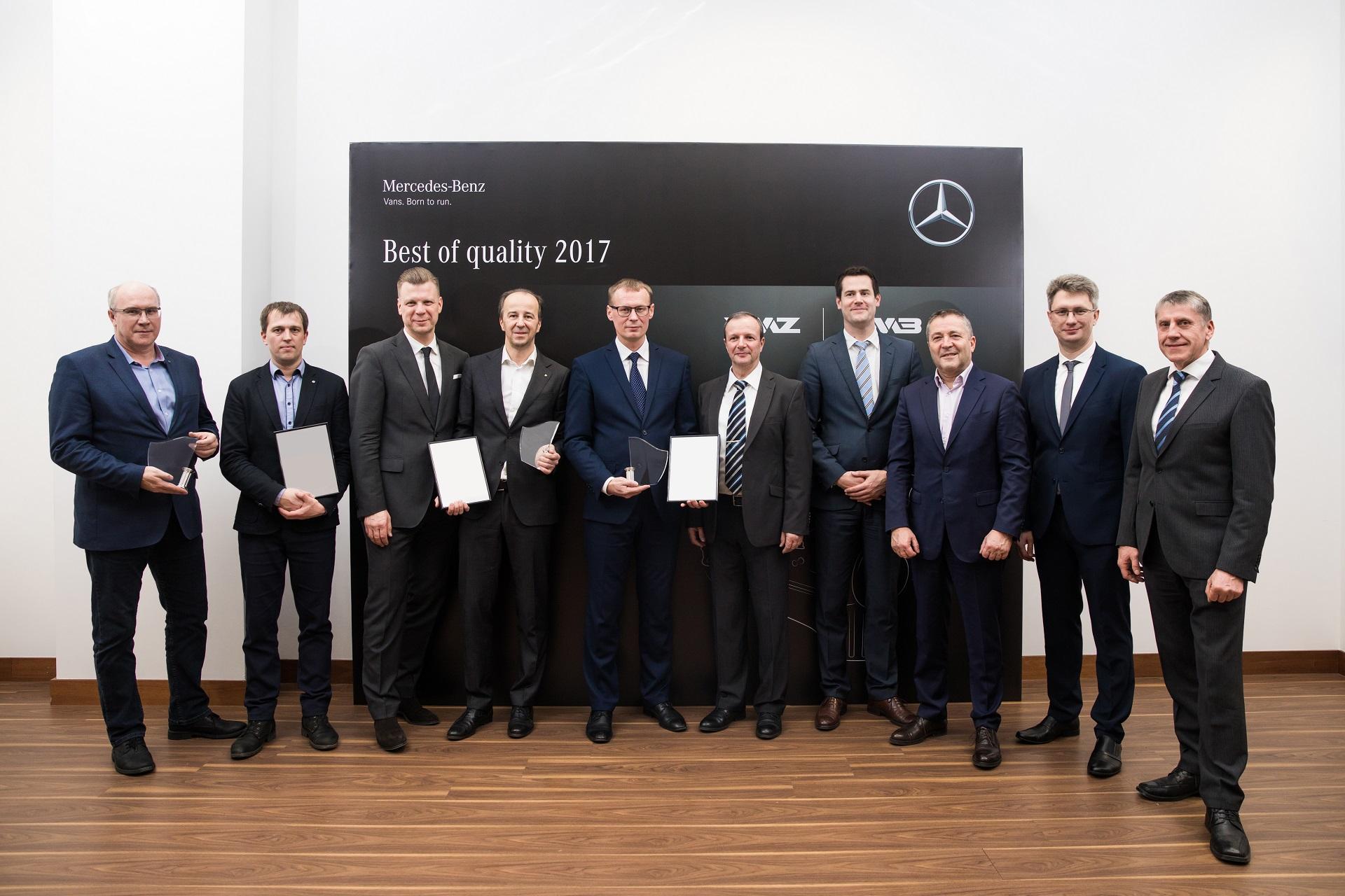 Daimler AG Премия Качества Автодизель
