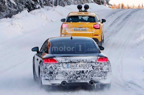 Audi тестирует обновленное купе TT