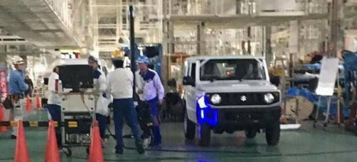 Массовый выпуск нового Suzuki Jimny начнётся в 2018 году
