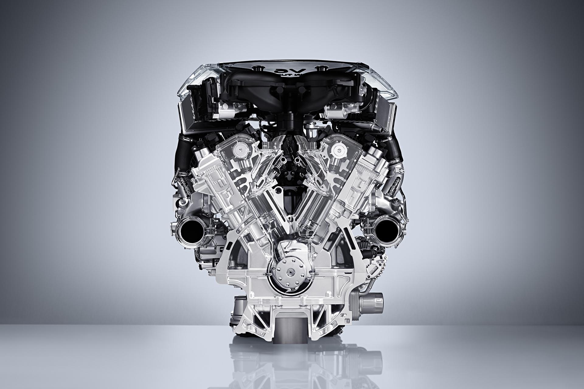 INFINITI 3.0-Liter twin-turbo V6 двигатель