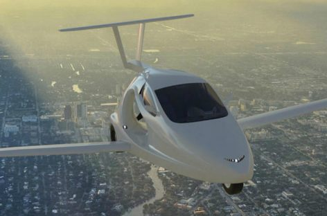 В 2018 году американцы выпустят летающий спорткар
