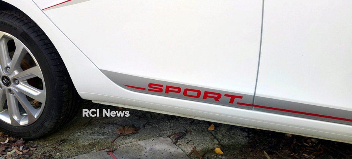 Первые снимки прототипа спортивной Lada Vesta