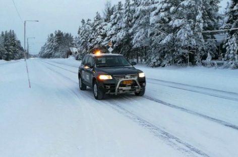 Финны создали беспилотник для заснеженных дорог