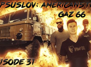 Американцы знакомятся с ГАЗ 66 в Америке
