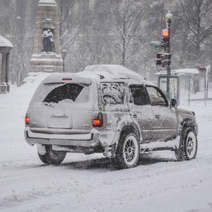На Москву идут морозы