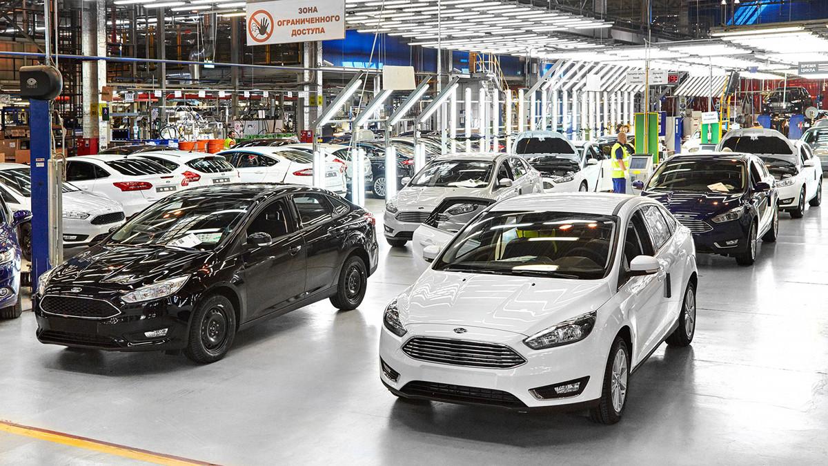 Ford завод Всеволжск