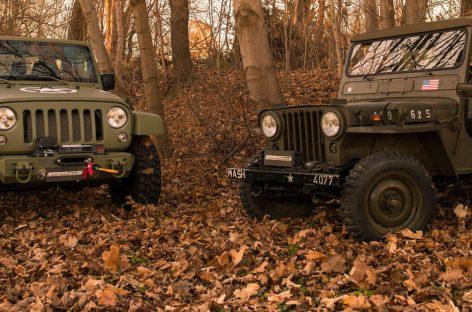 Jeep Wrangler превратили в старый Willys