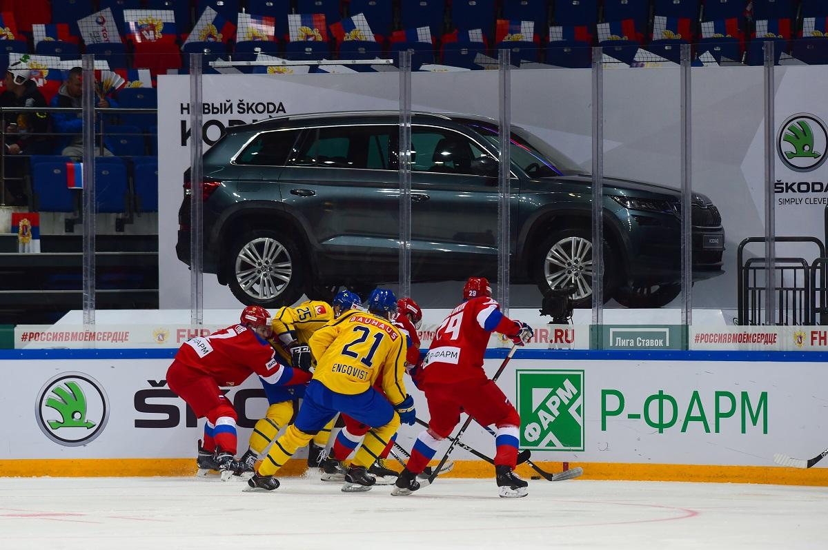 Skoda, Skoda Auto Россия, Кубок Первого канала, хоккей