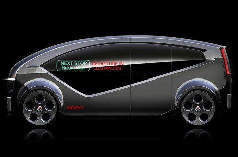 Беспилотный электроминивэн от Fisker появится в 2018 году