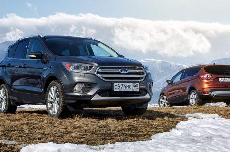Спрос на кроссоверы и внедорожники Ford продолжает расти