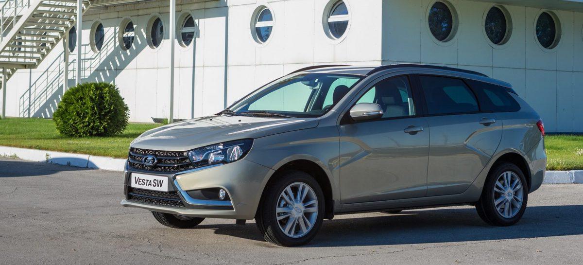 Универсалы Lada Vesta SW и SW Cross выходят на немецкий рынок