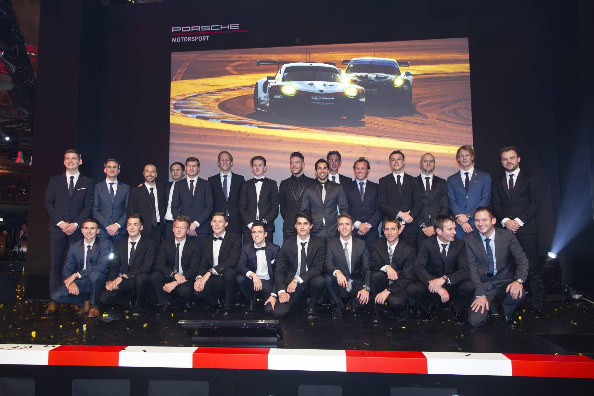 Команда Porsche