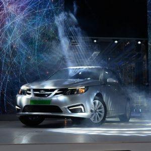 В Китае стартовал выпуск электромобилей Saab 9-3