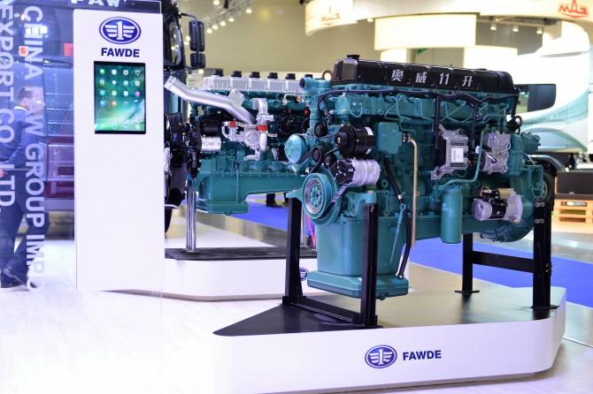 Новые двигатели для грузовиков FAW