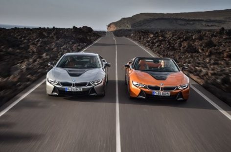 BMW покажет i8 Coupe в Детройте