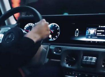Опубликован промо-ролик Mercedes G-Class
