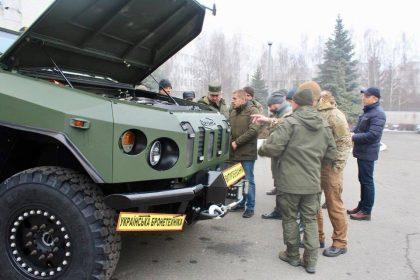 Варта-Новатор, бронемашина, Украинская бронетехника