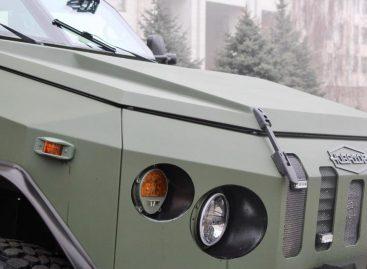 Новый украинский бронеавтомобиль