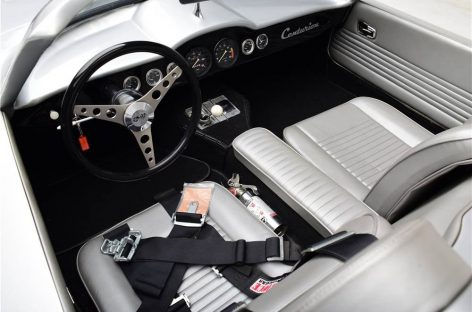 На аукционе продадут редкий Chevrolet Corvette Centurion 1958 года выпуска