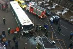 Предварительно: водитель автобуса не справился с управлением
