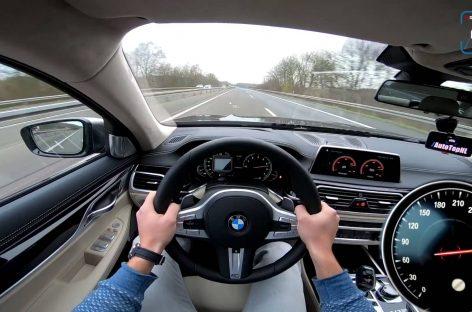 BMW M7 удалось разогнать до 320 км/ч