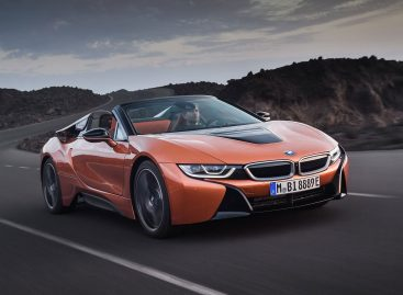 Объявлены цены на модели BMW i8