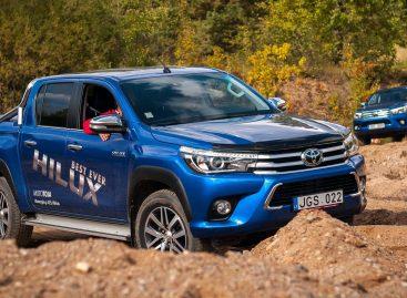 Toyota начала продажи рестайлингового пикапа Hilux