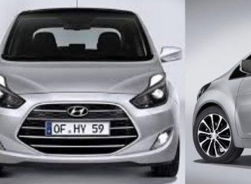 Hyundai Santro засветился на шпионских снимках