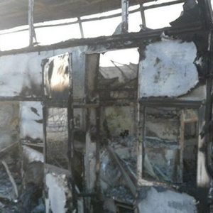 В Казахстане более 50 человек погибли в загоревшемся автобусе
