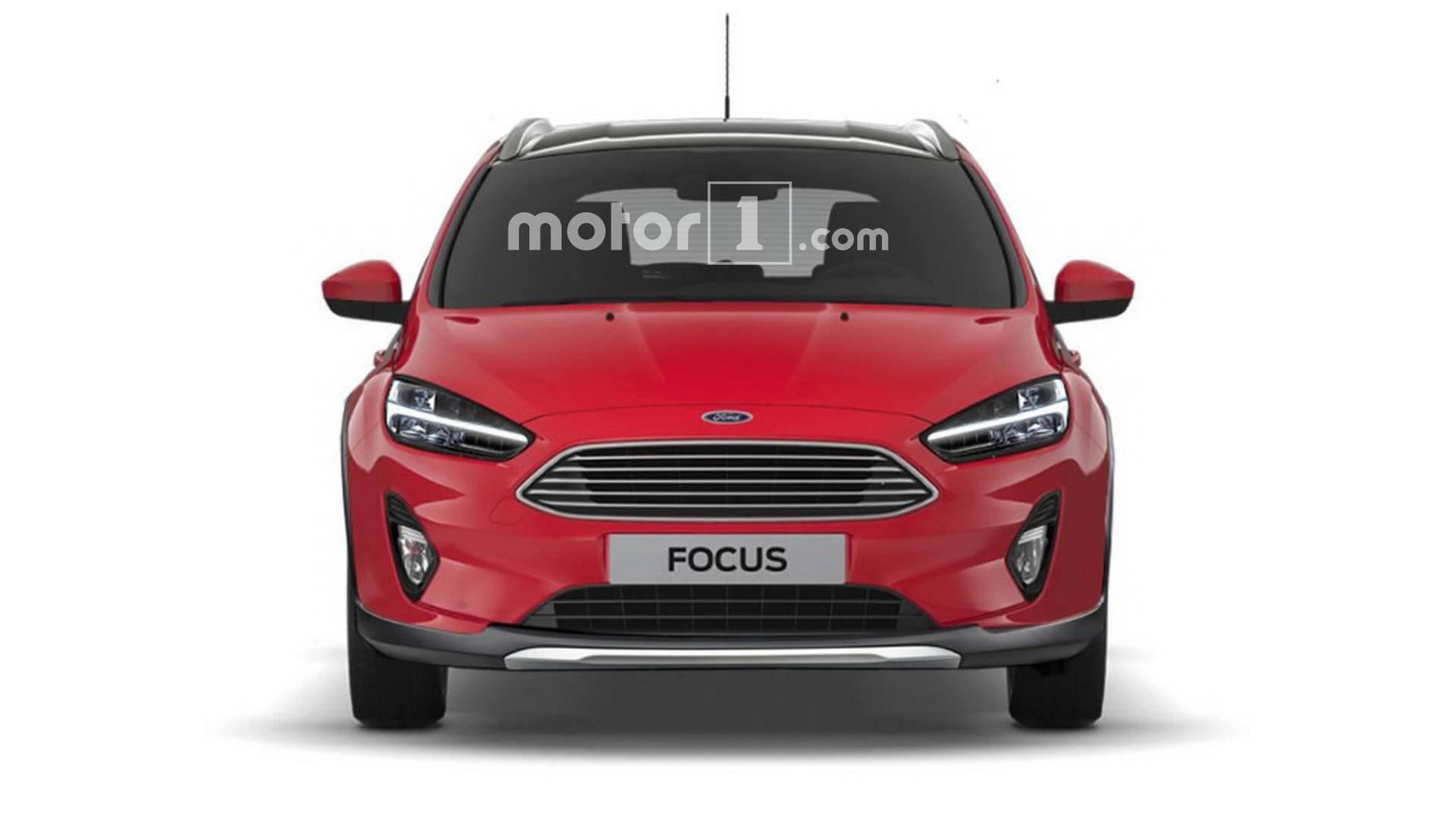 внедорожный кроссовер хетчбек Ford Focus 2019