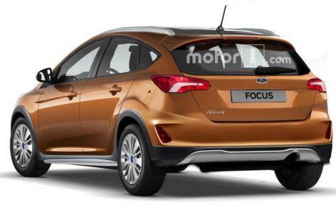 Опубликованы первые рендеры внедорожного Ford Focus